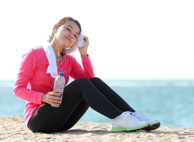 Some great hacks that will help you beat the summer heat when you workout